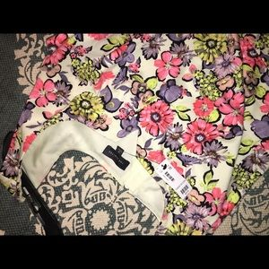 The limited spring floral dress NWT